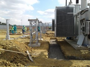 Distribution Transformer and Substation Installation